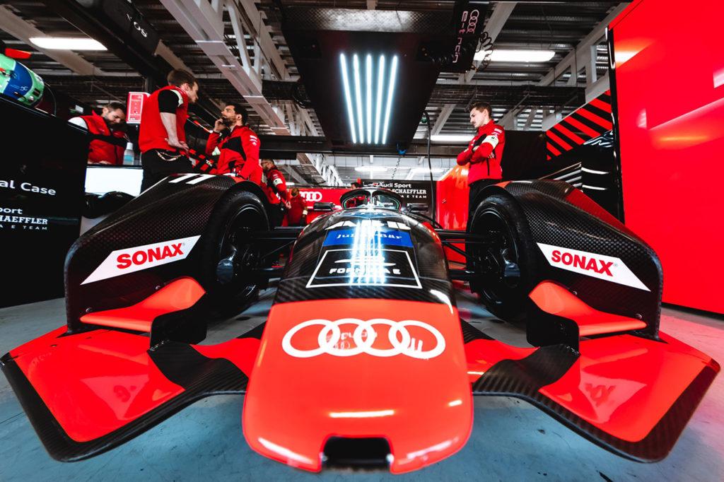 Formula E | Rookie Test a Marrakech: van der Linde il più veloce al mattino con Audi