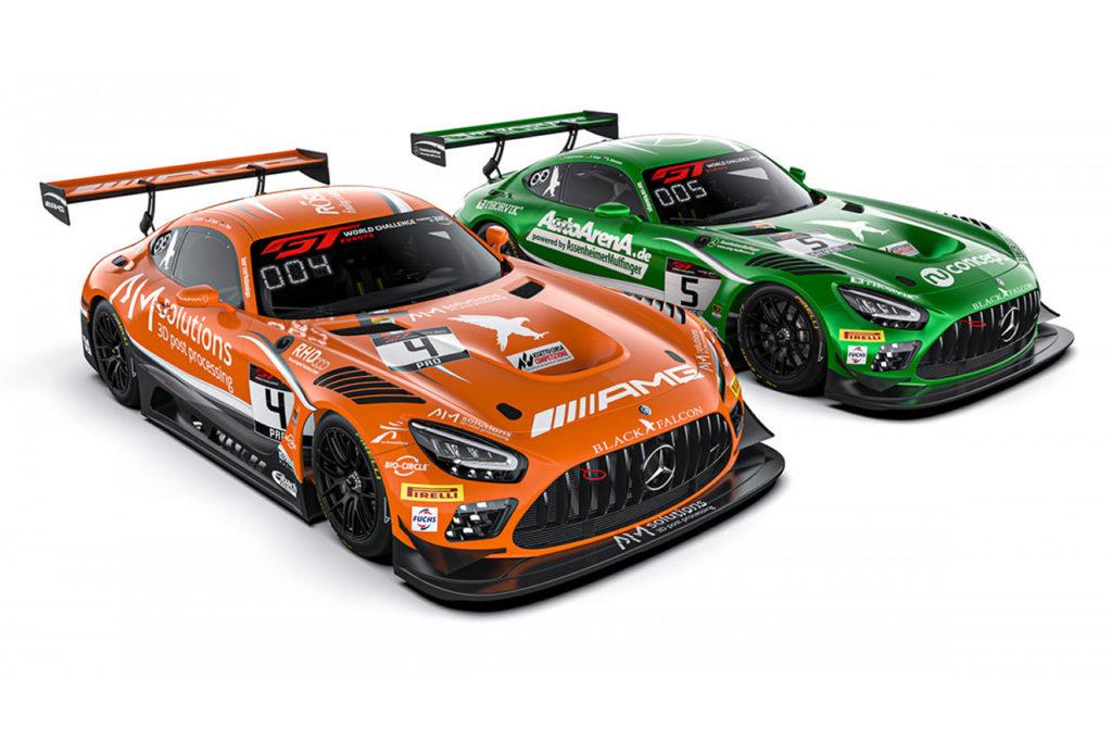 GT World Challenge | Abril si unisce a Engel e Stolz con la Mercedes di Black Falcon