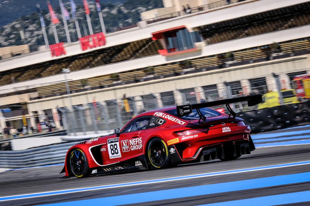 GT World Challenge | Marciello il più veloce nei test di Le Castellet con Mercedes