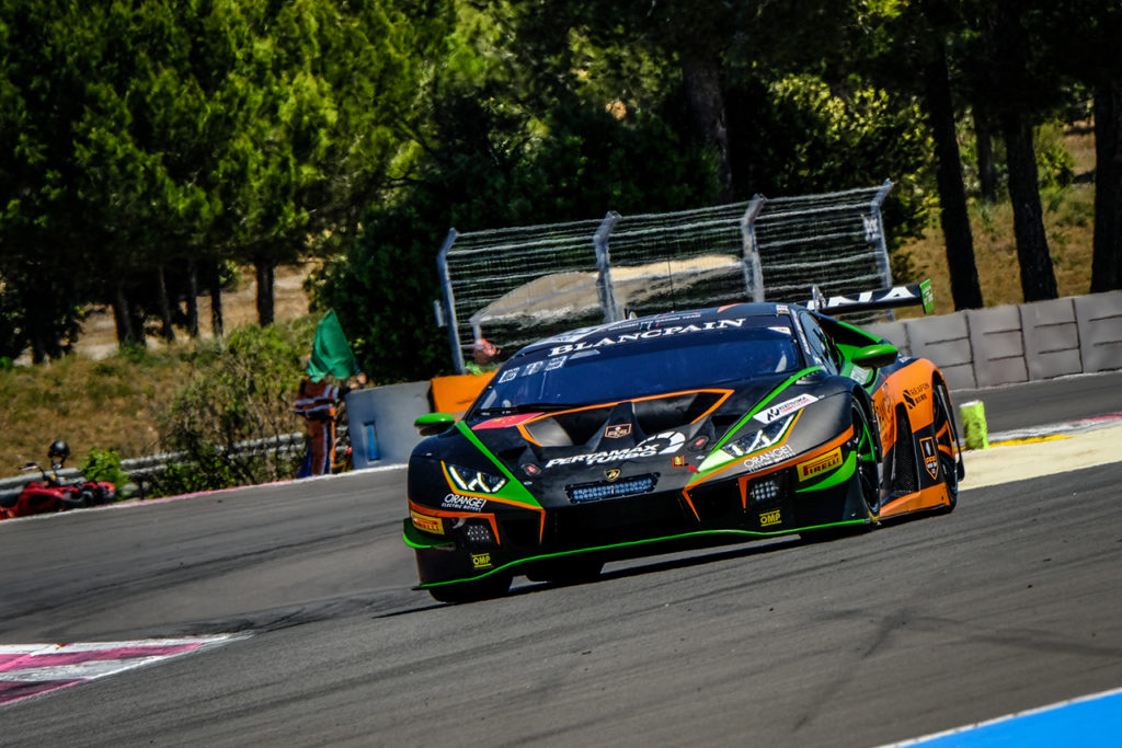 GT World Challenge | Orange1 FFF Racing salta i test di Le Castellet
