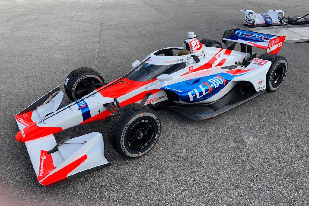 IndyCar | DragonSpeed svela la livrea per la gara di St. Petersburg