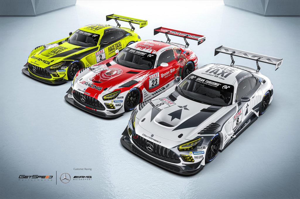 NLS | GetSpeed conferma tre Mercedes-AMG GTE Evo con piloti ufficiali