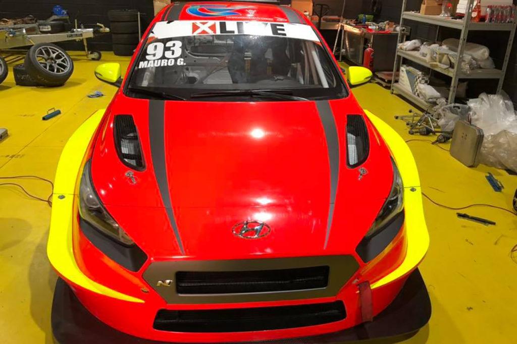 TCR Italy | Guastamacchia con una Hyundai del Team Aggressive nel 2020