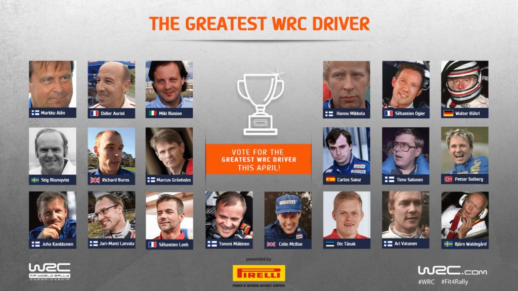 WRC | Il più grande pilota WRC di tutti i tempi, parte da domani il torneo ufficiale