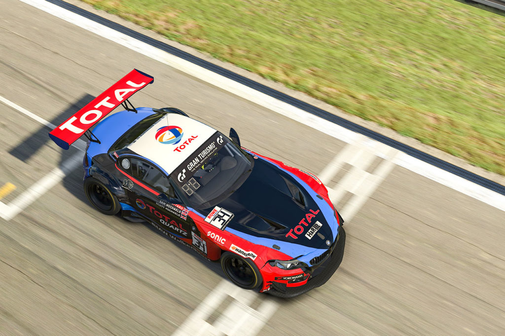 Doppio podio per BMW Motorsport nella gara virtuale al Nurburgring
