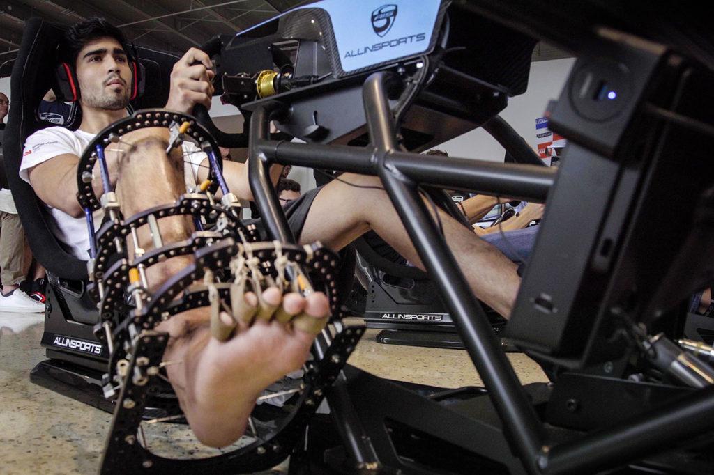 FIA F2 | Correa al via del Gran Premio virtuale della Formula 1