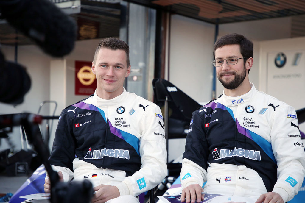 Formula E   Guenther e Sims a ruota libera: BMW, il campionato e la Race at Home Challenge