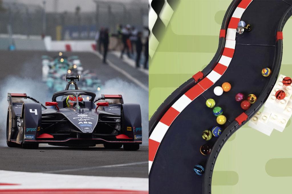 Formula E | Marbula E, il campionato… di biglie prende vita con Envision Virgin Racing