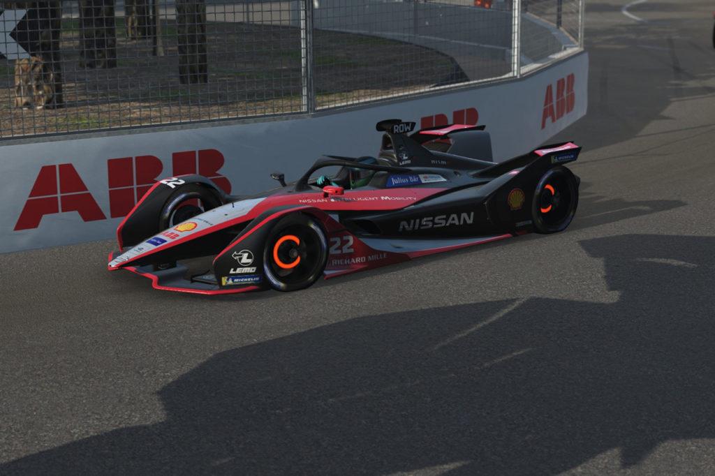 Formula E | Rowland centra la zona punti con Nissan e.dams nella Race at Home Challenge