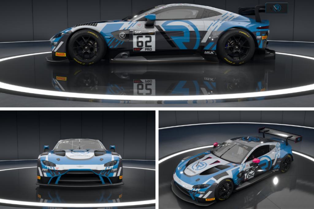 GT World Challenge | R-Motorsport svela la livrea ufficiale per la SRO E-Sport GT Series