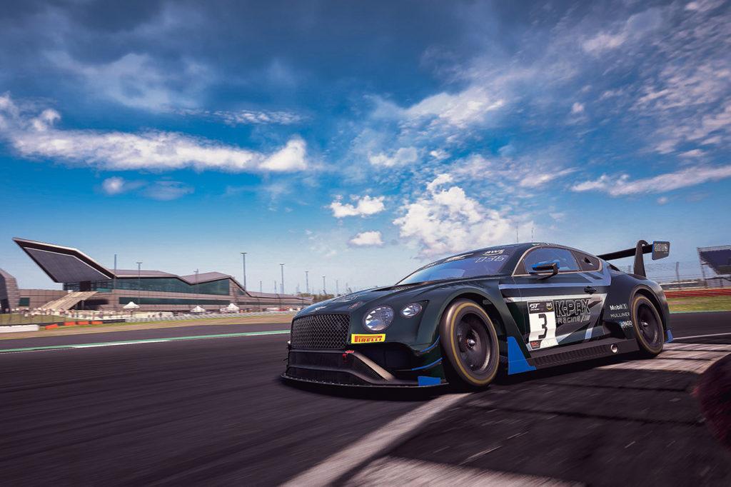 GT World Challenge | Bentley conquista la prima gara della SRO E-Sport GT Series
