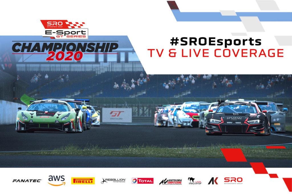 GT World Challenge | SRO E-Sport GT Series, confermata la copertura online e TV