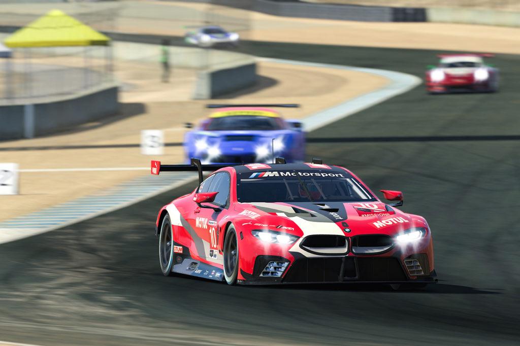 IMSA | L'ennesima tripletta BMW nella gara virtuale di Laguna Seca