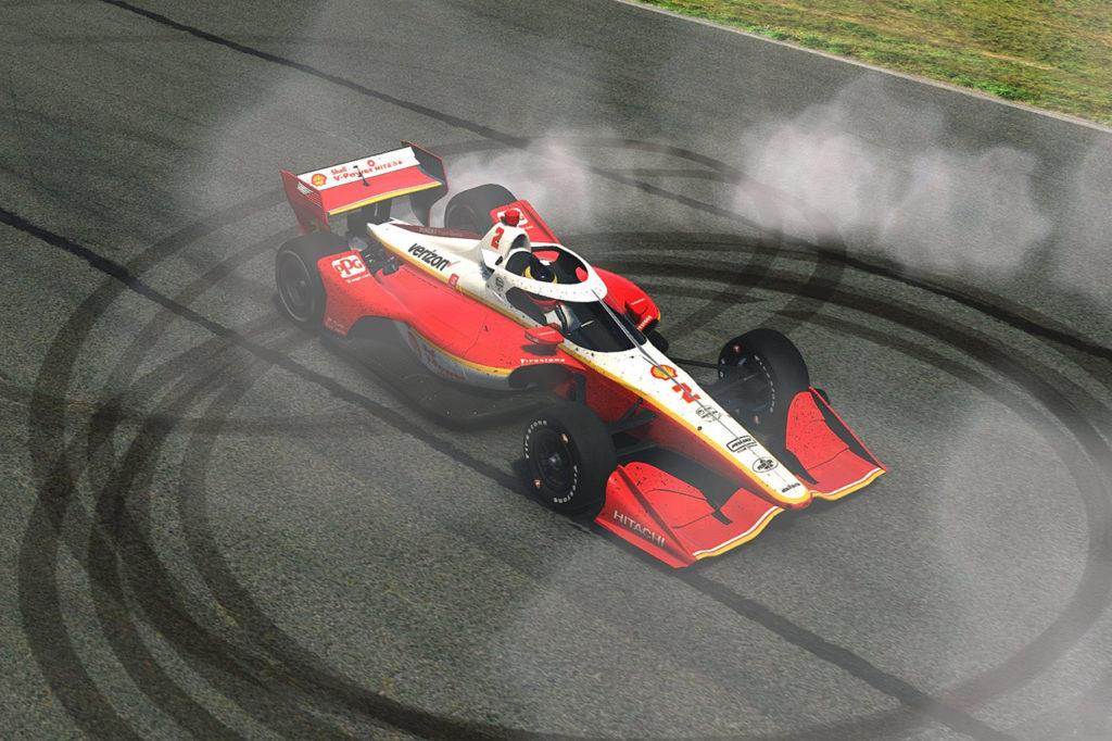 IndyCar | McLaughlin vince la gara virtuale a Barber, in pista anche Wickens