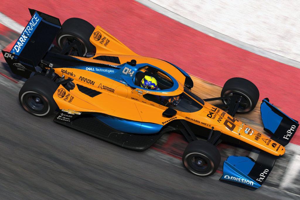 IndyCar | iRacing Challenge, Norris sorprende e vince ad Austin!