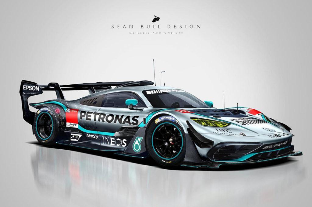 WEC   Mercedes-AMG ONE-GTR: l'idea di Sean Bull per la Le Mans Hypercar
