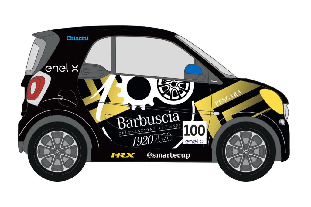 smart EQ fortwo e-cup | Il Gruppo Barbuscia festeggia 100 anni, riconfermato Chiarini
