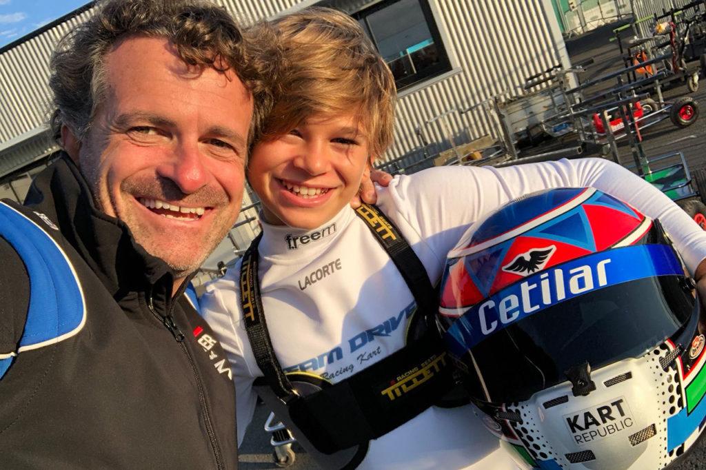 """Piloti in quarantena, Roberto Lacorte: """"Mi alleno con mio figlio, in palestra e al simulatore"""" [INTERVISTA]"""