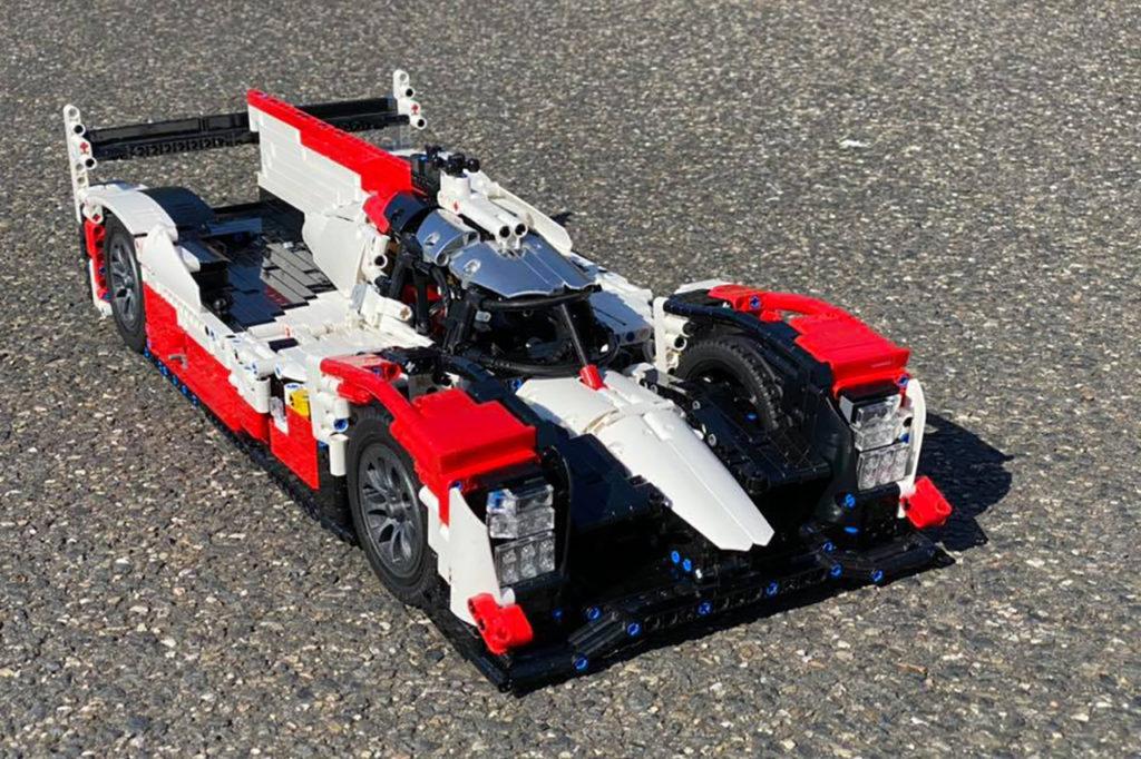 WEC | La Toyota TS050 in versione LEGO, costruita da un bambino