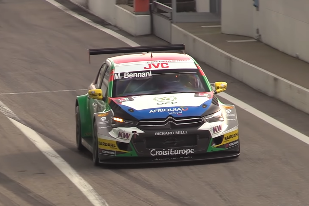 Citroen C-Elysée TC1, la dominatrice del WTCC in azione a Monza [VIDEO]