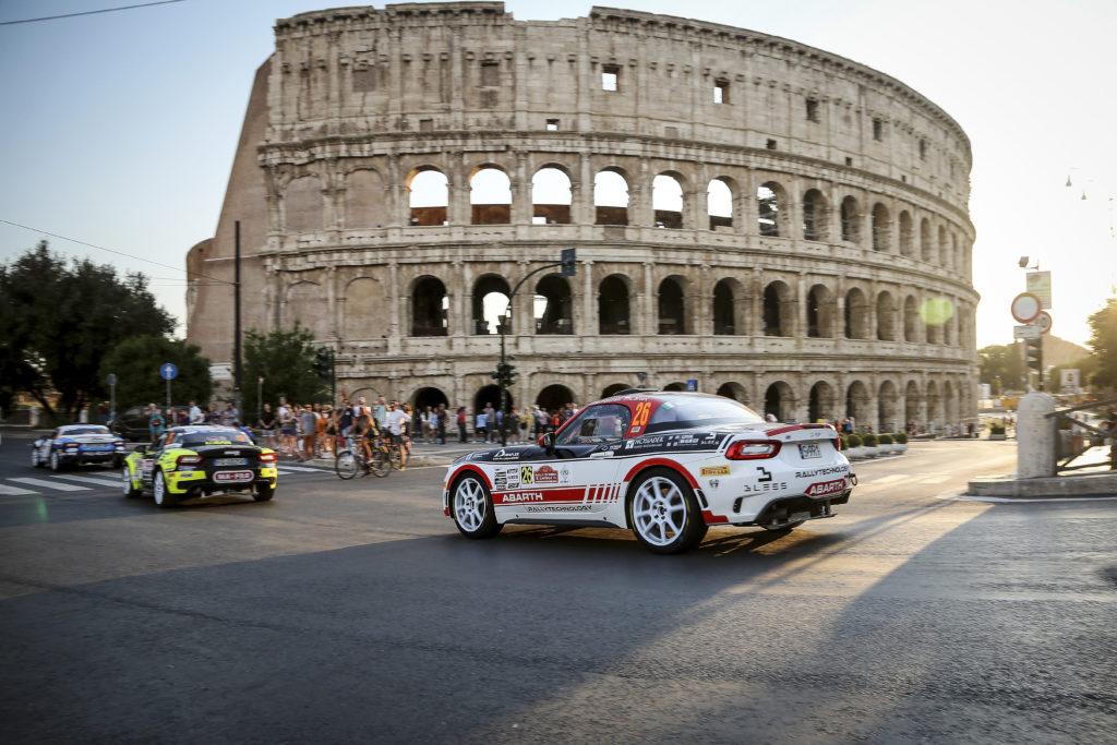 Abarth Rally Cup 2020, si parte dal Roma Capitale?