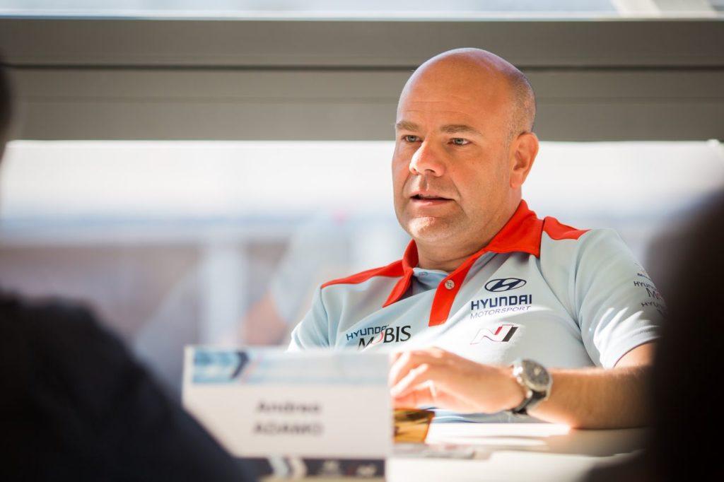 WRC | La proposta di Adamo (Hyundai) per attrarre più team nel Mondiale
