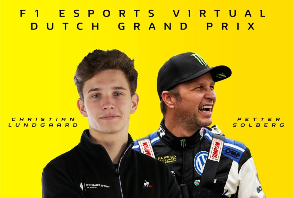 """Petter Solberg e il debutto (virtuale) nella F1 con Renault: """"Divertente ma difficile"""""""