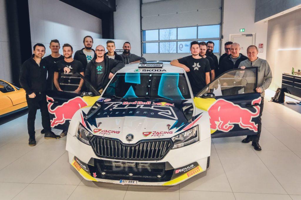 Skoda Fabia REX, la vettura Rally2 elettrica posticipa il proprio debutto a gennaio 2021