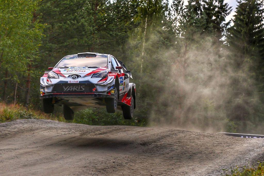 WRC   Cinque Toyota al Rally di Finlandia. E la nuova GR Yaris WRC è a buon punto