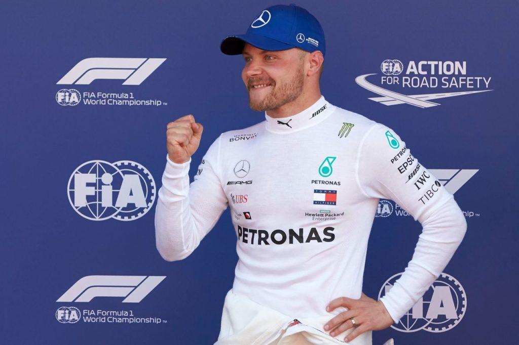 Valtteri Bottas torna a provare una vettura rally: prima volta con la Skoda Fabia R5