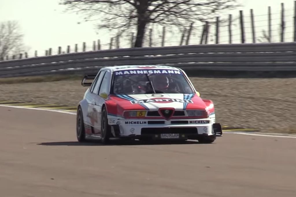Alfa Romeo 155 V6 TI, quando l'Italia vinceva e dominava nell'ITC [VIDEO]