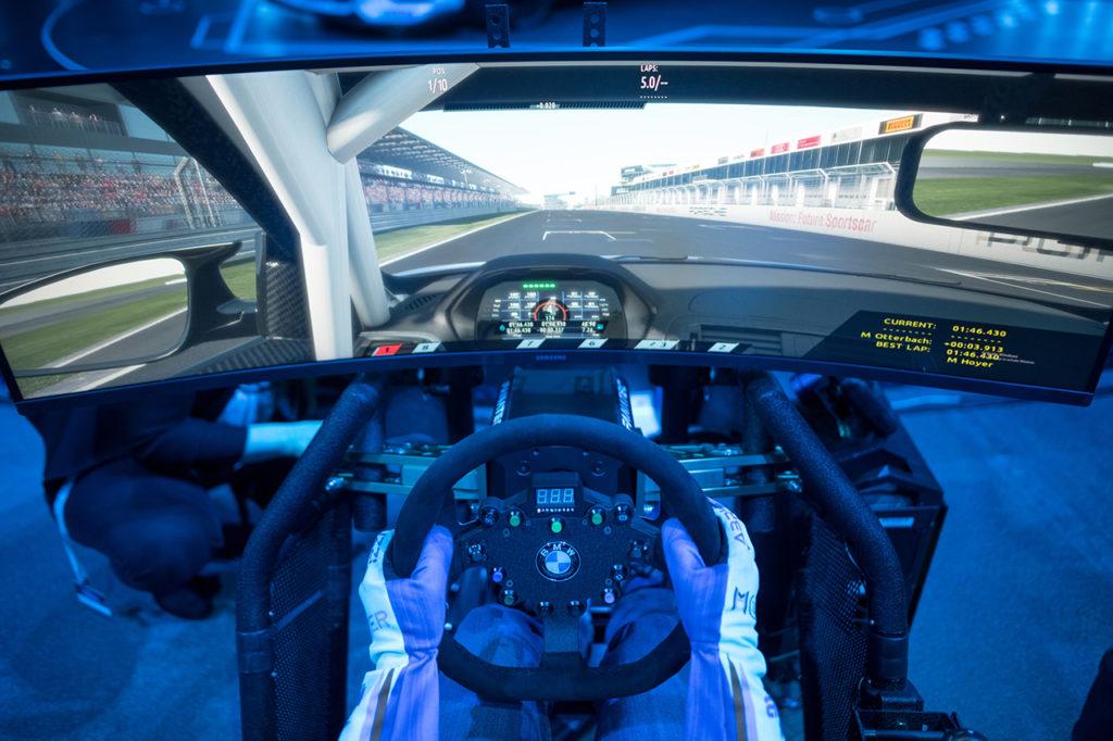 L'equipaggiamento per il sim-racing: parola agli ufficiali di BMW Motorsport