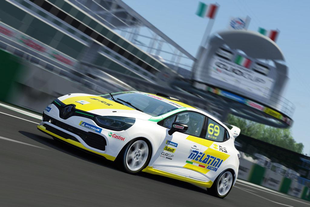Clio Cup Italia | Doppia vittoria di Zeni nel primo round della eSport Series