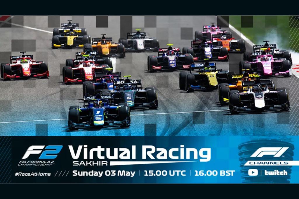 FIA F2 | Al via la Virtual Racing, gare online a supporto della Formula 1