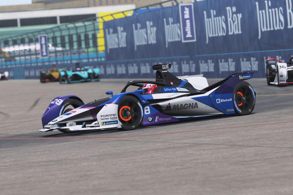 Formula E | BMW ancora in lizza per il titolo della Race at Home Challenge con Guenther
