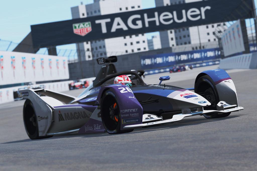 Formula E   Guenther e BMW ancora imbattuti nella Race at Home Challenge