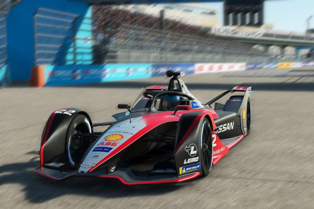 Formula E | Prima vittoria di Nissan e.dams nella Race at Home Challenge con Rowland