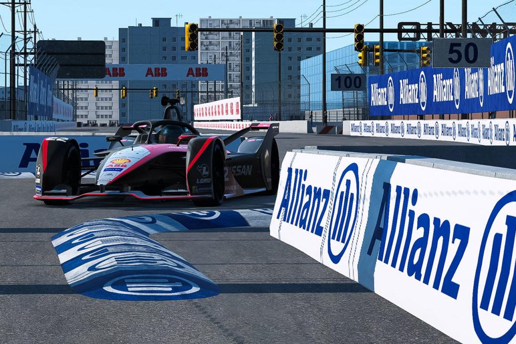 Formula E | Nissan e.dams sfiora la zona punti nella Race at Home Challenge
