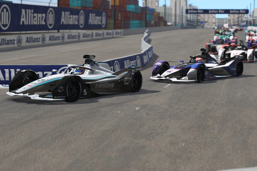 Formula E | Race at Home Challenge: ennesimo dominio di Guenther e BMW a New York