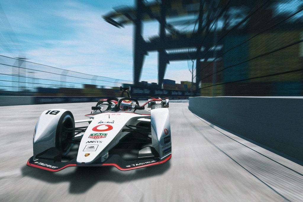 Formula E | Primi punti per Porsche e Jani nella Race at Home Challenge