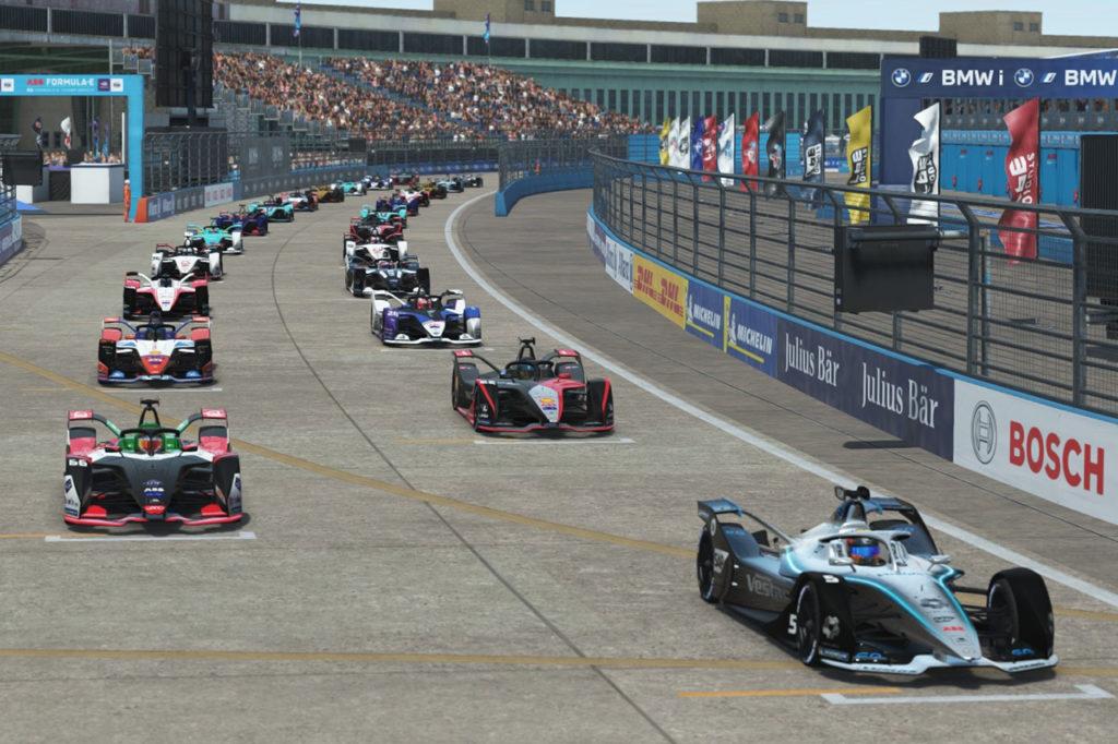 Formula E | Race at Home Challenge, Berlino: Rowland contiene Vandoorne