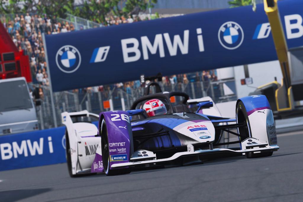 Formula E | BMW e Guenther a podio nel terzo round della Race at Home Challenge