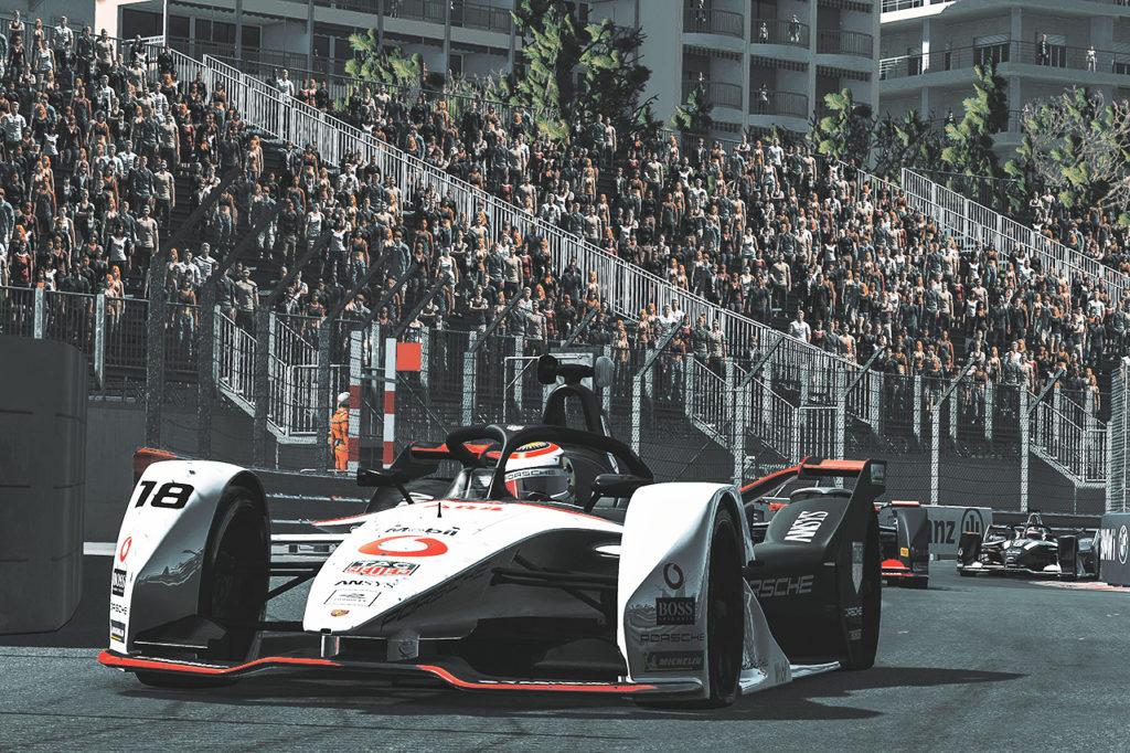 Formula E | Porsche centra la top-10 nella Race at Home Challenge con Jani e Lotterer