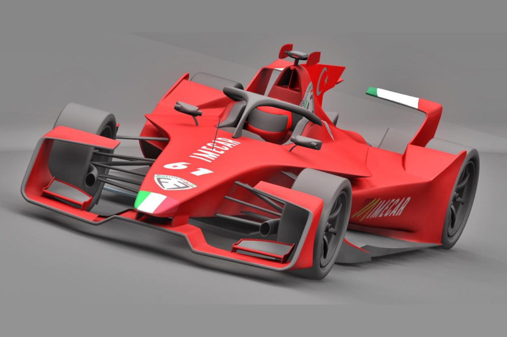 Formula E | Il nuovo team di Pizzuto si colora di rosso: ecco la livrea provvisoria