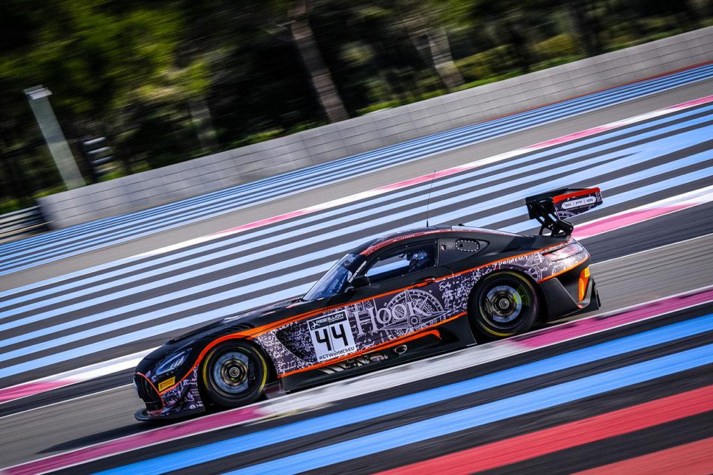 GTWC Europe   Mercedes-AMG GT3 Evo già in pista con SPS Automotive Performance