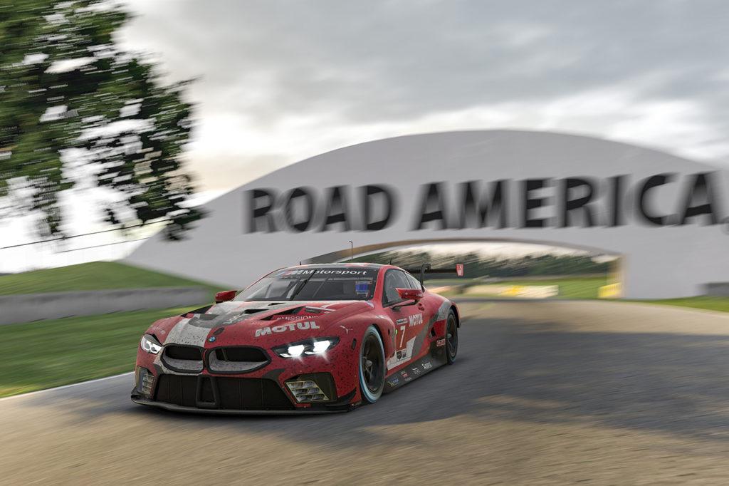 IMSA | iRacing Pro Series, BMW centra un doppio podio a Road America