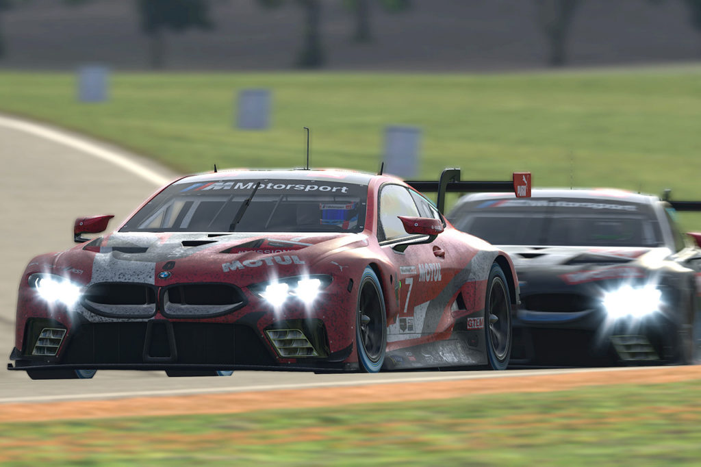IMSA | iRacing Pro Series, BMW Motorsport forte ma sfortunata in Virginia