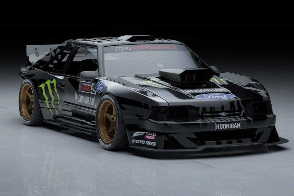 Hoonifox Ford Mustang, la nuova folle idea di Ken Block per la Gymkhana XI [VIDEO]