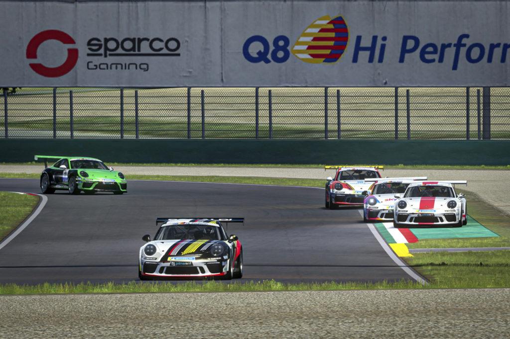 Porsche Carrera Cup Italia | De Salvo vince i primi due appuntamenti della serie Esports