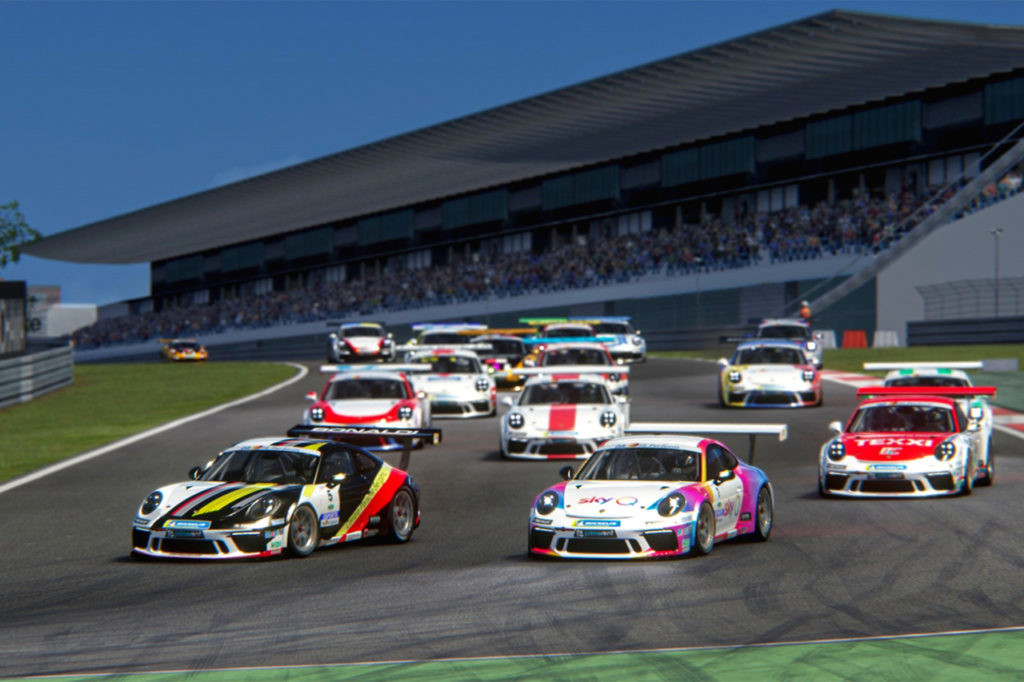 Porsche Carrera Cup Italia | Santoro vince il terzo round della Esports al Nordschleife